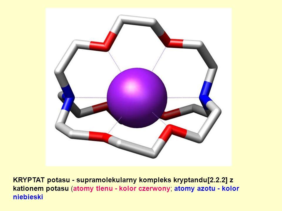 KRYPTAT potasu - supramolekularny kompleks kryptandu[2. 2